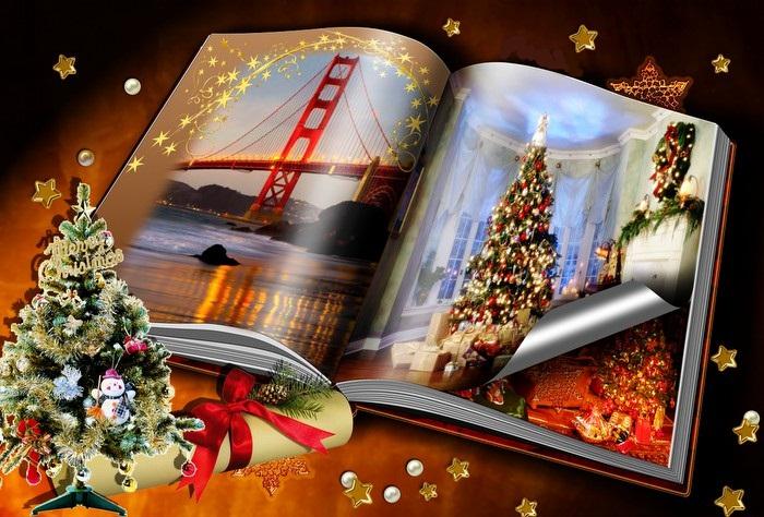 Libro de recuerdos Navideños